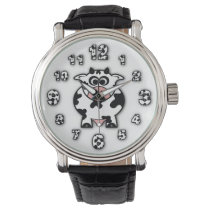 Cow Wristwatch