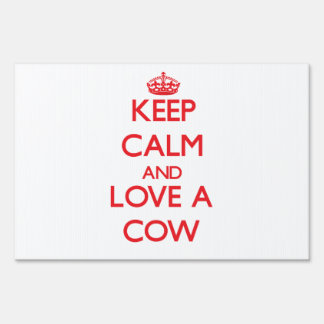 Cow Yard Signs