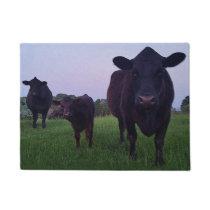 Cow Yup Cow! Door Welcome Mat