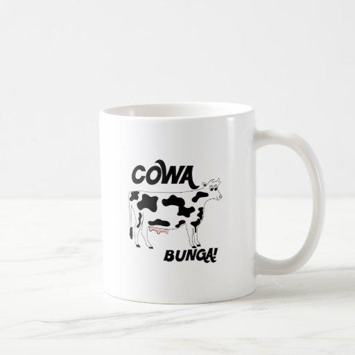 Cowa Bunga Taza De Café