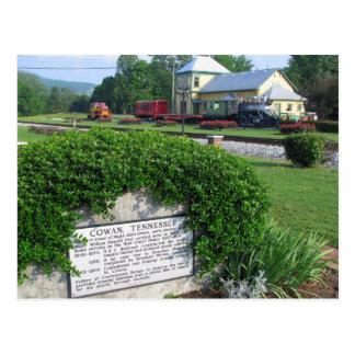 Cowan, depósito de tren histórico del TN Tarjetas Postales