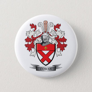 Cowan Family Crest Coat of Arms Button