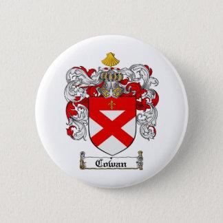 COWAN FAMILY CREST -  COWAN COAT OF ARMS BUTTON