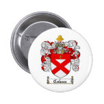 COWAN FAMILY CREST -  COWAN COAT OF ARMS BUTTON