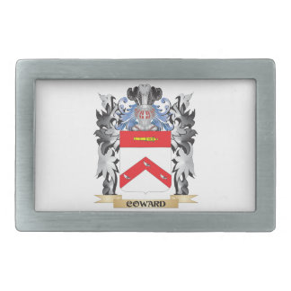 Coward Coat of Arms - Family Crest Rectangular Belt Buckle