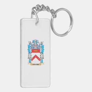 Coward Coat of Arms - Family Crest Double-Sided Rectangular Acrylic Keychain