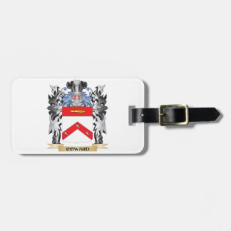 Coward Coat of Arms - Family Crest Travel Bag Tag