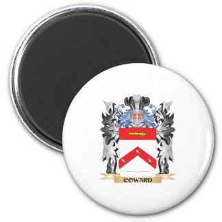Coward Coat of Arms - Family Crest 2 Inch Round Magnet