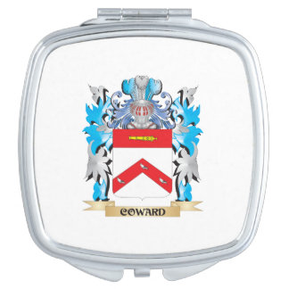 Coward Coat of Arms - Family Crest Makeup Mirror