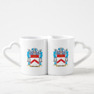 Coward Coat of Arms - Family Crest Couples' Coffee Mug Set