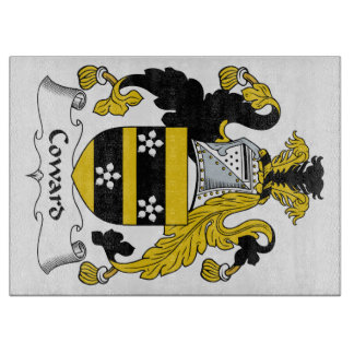 Coward Family Crest Cutting Boards