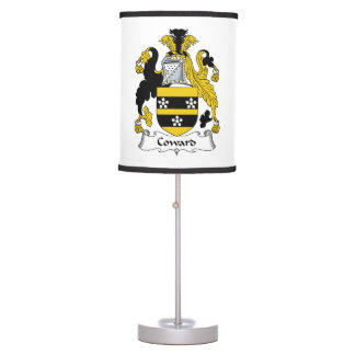 Coward Family Crest Table Lamps