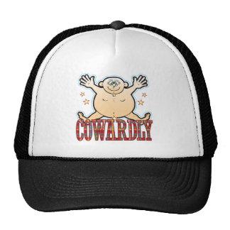 Cowardly Fat Man Trucker Hat