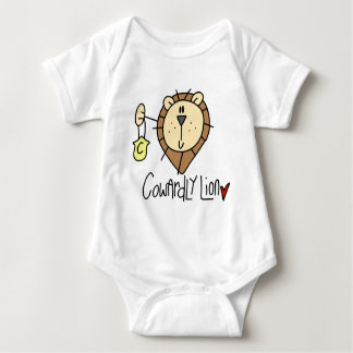 Cowardly Lion Baby Bodysuit