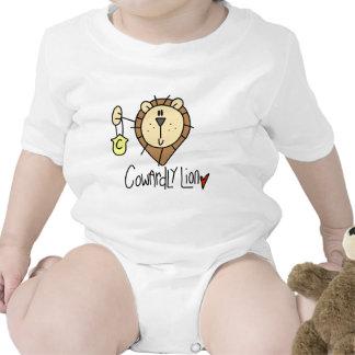 Cowardly Lion Bodysuit
