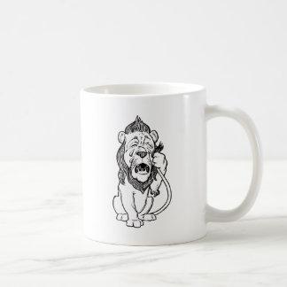 Cowardly Lion Coffee Mug