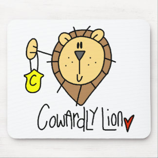 Cowardly Lion Mouse Pad