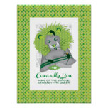 Cowardly Lion Posters