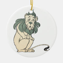 Cowardly Lion, Wizard of Oz Christmas Ornament