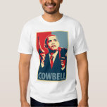 Cowbell: Obama Parody Poster Tshirts