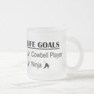 Cowbell Player Ninja Life Goals Mug