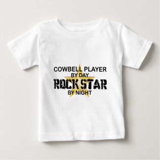 Cowbell Player Rock Star by Night T-shirt