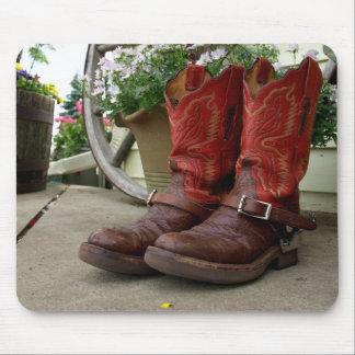 cowbot boots mousepad