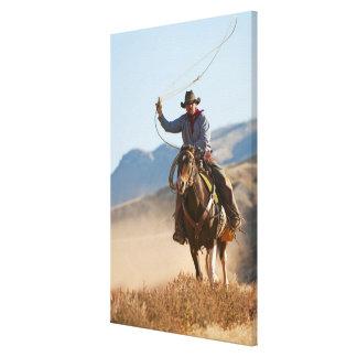 Cowboy 10 canvas print