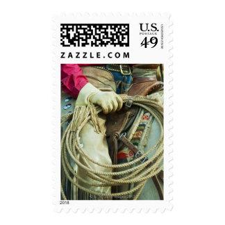 Cowboy 10 postage stamp