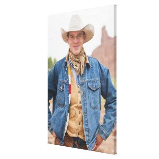Cowboy 12 canvas print
