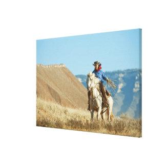 Cowboy 13 canvas print