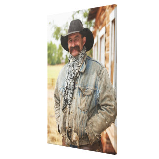 Cowboy 14 canvas print