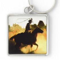 Cowboy 1 Keychain