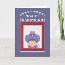 Cowboy 1st Birthday Card