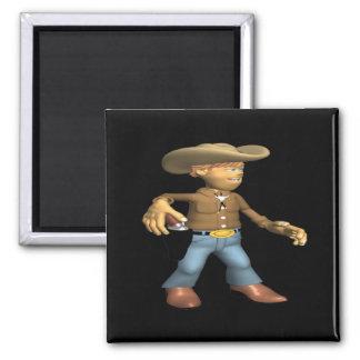 Cowboy 2 fridge magnet