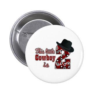 Cowboy 2nd Birthday Pin