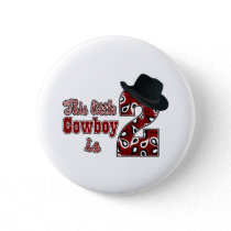 Cowboy 2nd Birthday Pinback Button