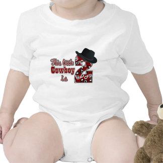 Cowboy 2nd Birthday Baby Creeper