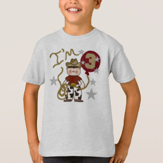 Cowboy 3rd Birthday T-Shirt