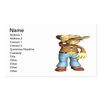 Cowboy 4 business cards