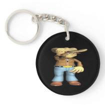 Cowboy 4 keychain