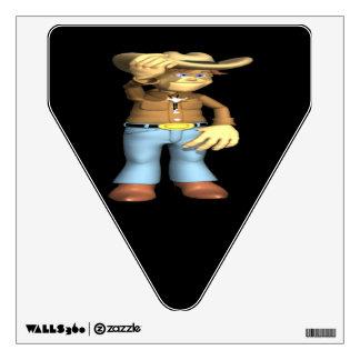 Cowboy 4 wall skins
