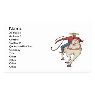 Cowboy 5 business card