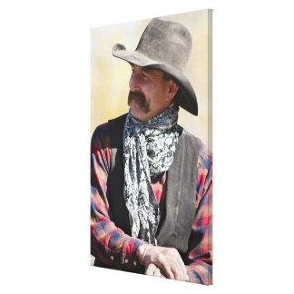 Cowboy 5 canvas print