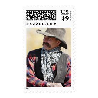 Cowboy 5 postage stamp