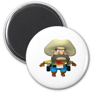 Cowboy 6 magnets