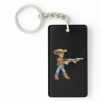Cowboy 7 keychain