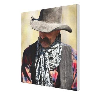 Cowboy 8 canvas print