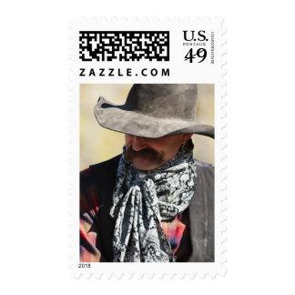 Cowboy 8 postage stamp