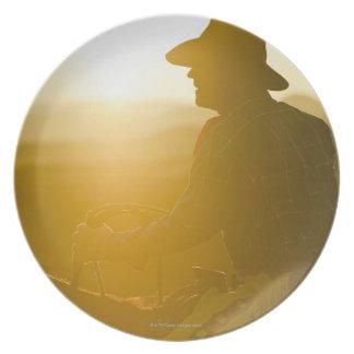 Cowboy 9 plates